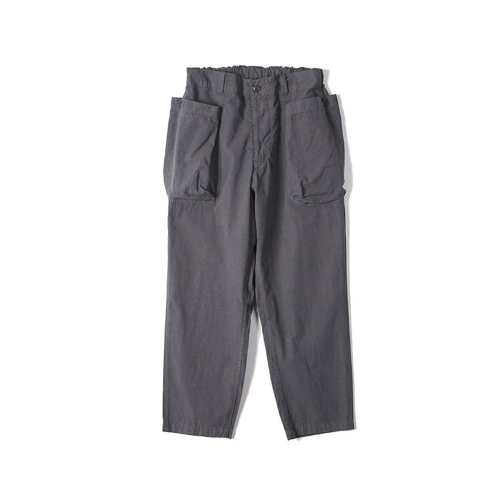 "Sage De Cret 9/10 Length Work Pants ""Charcoal"""