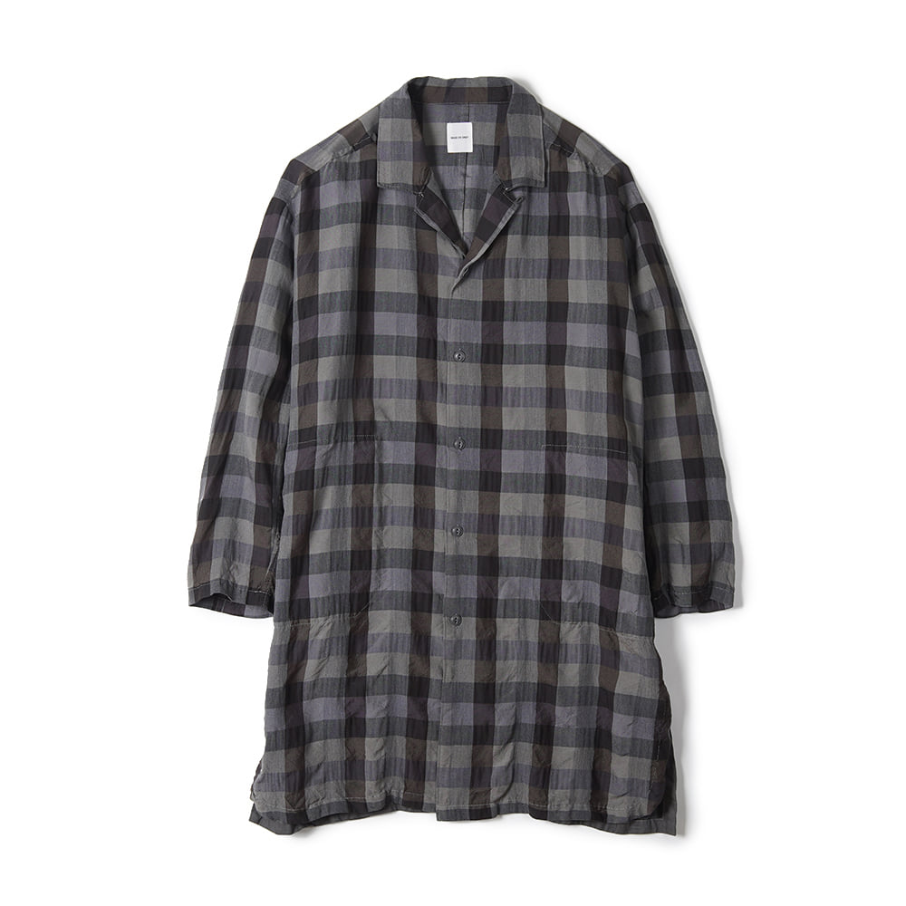 "Sage De Cret Shirt Coat ""Gray"""