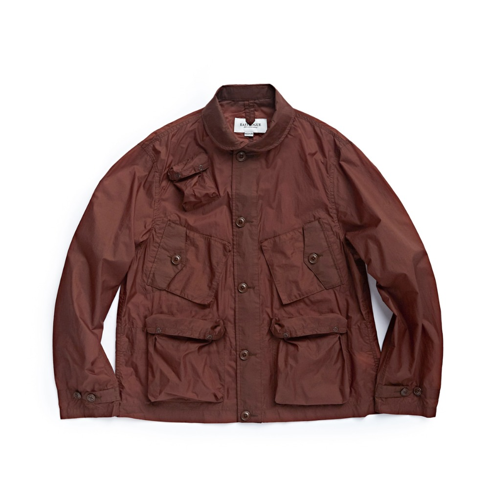 "EASTLOGUE C-1 Jacket ""Brown Nylon Ripstop"""