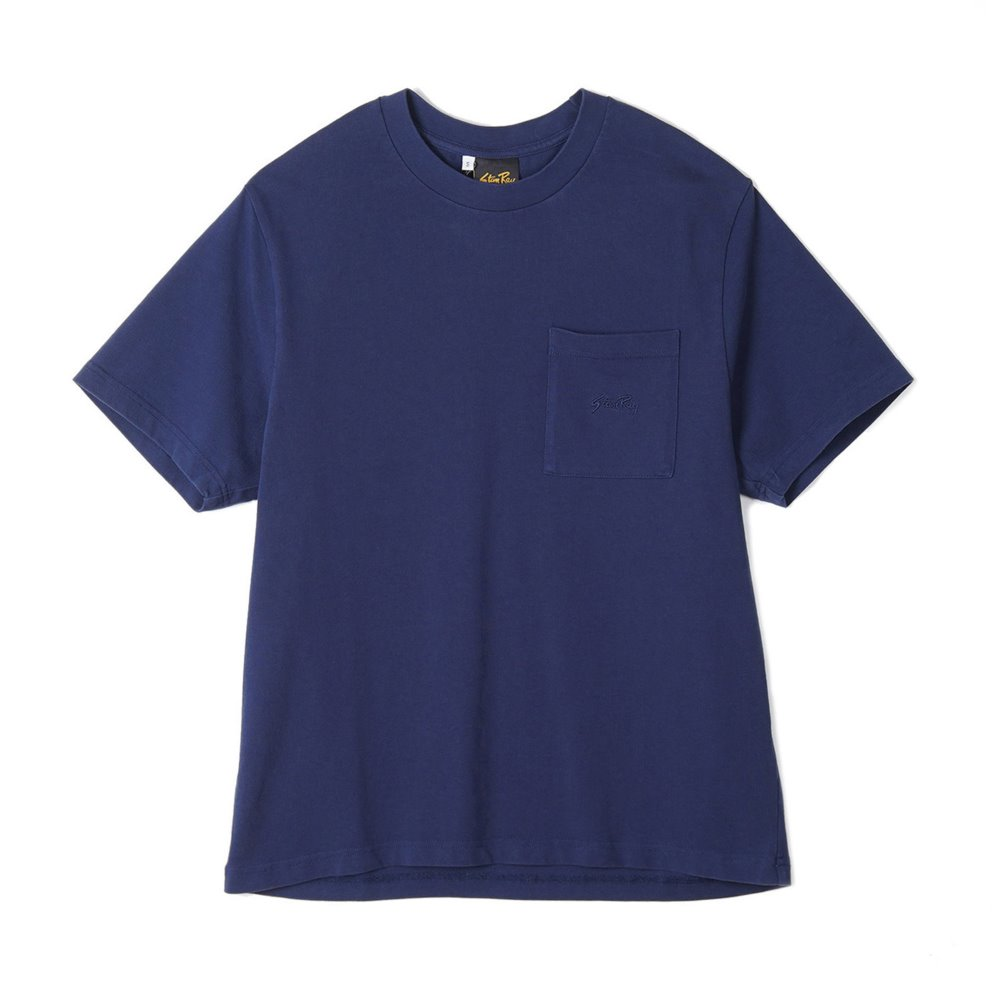 "STAN RAY Patch Pocket T-Shirt ""Navy"""