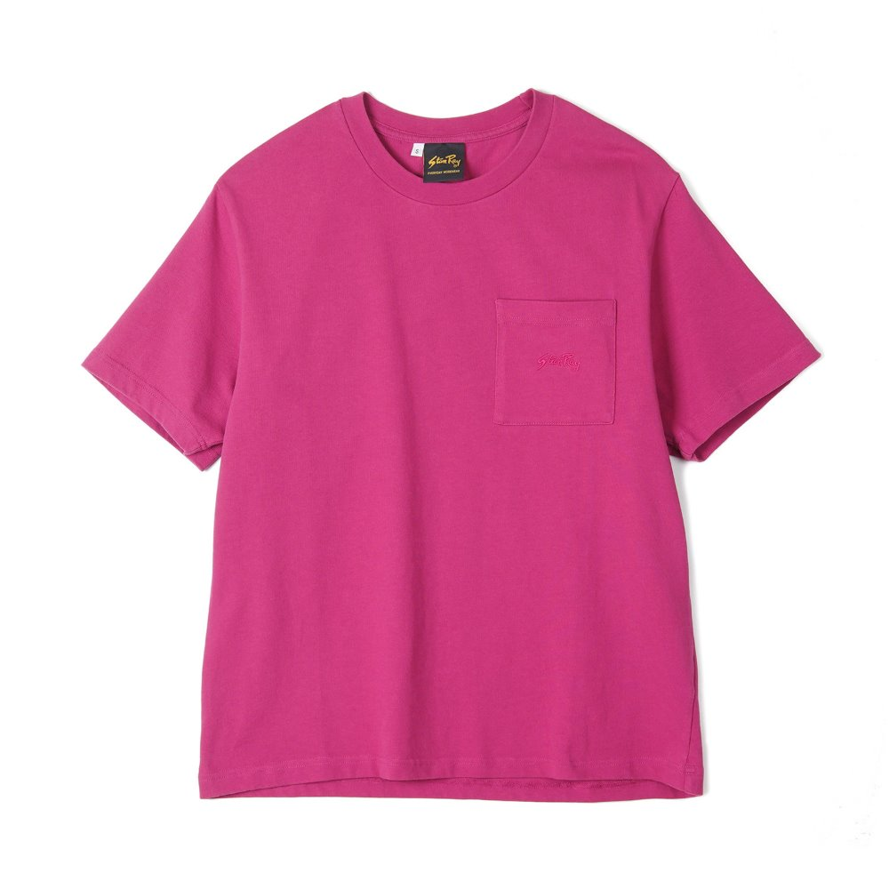"STAN RAY Patch Pocket T-Shirt ""Purple Pink"""