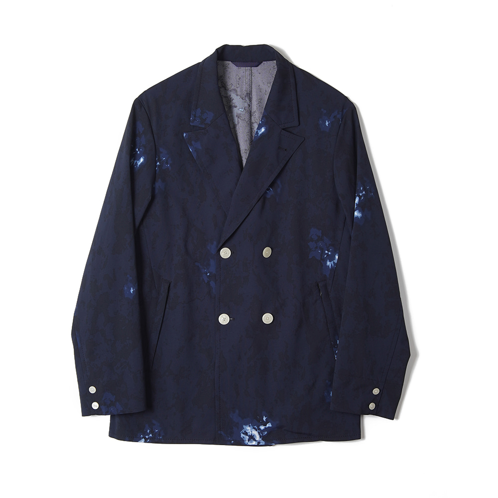 "NANAMICA ALPHADRY Club Double Jacket ""Navy"""