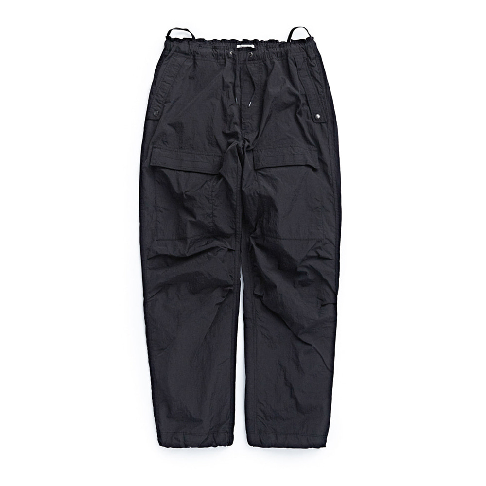 "EASTLOGUE CBR Pants ""Black Nylon Washer"""