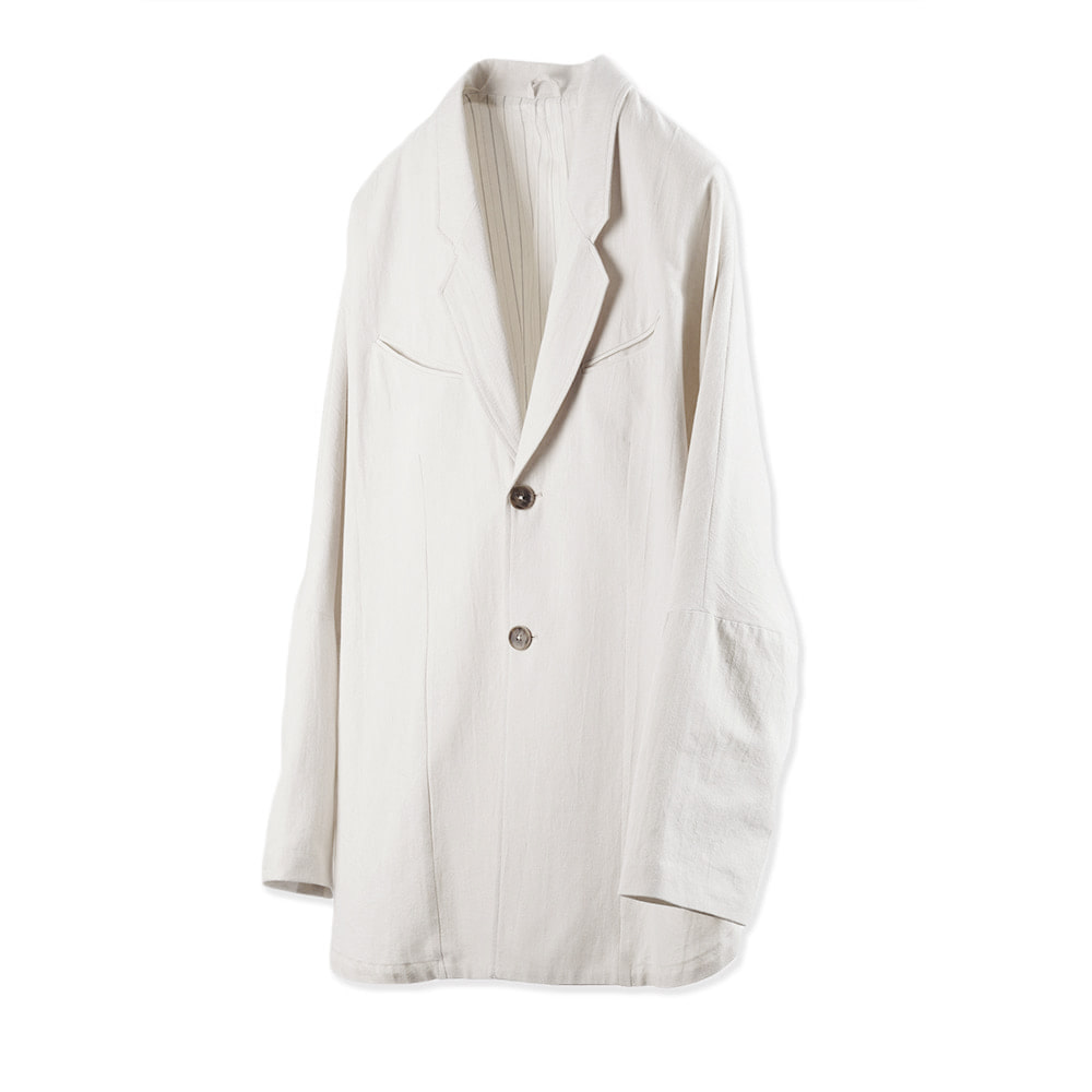 OOPARTS Paper Yarn Zen Setup Jacket 'White""