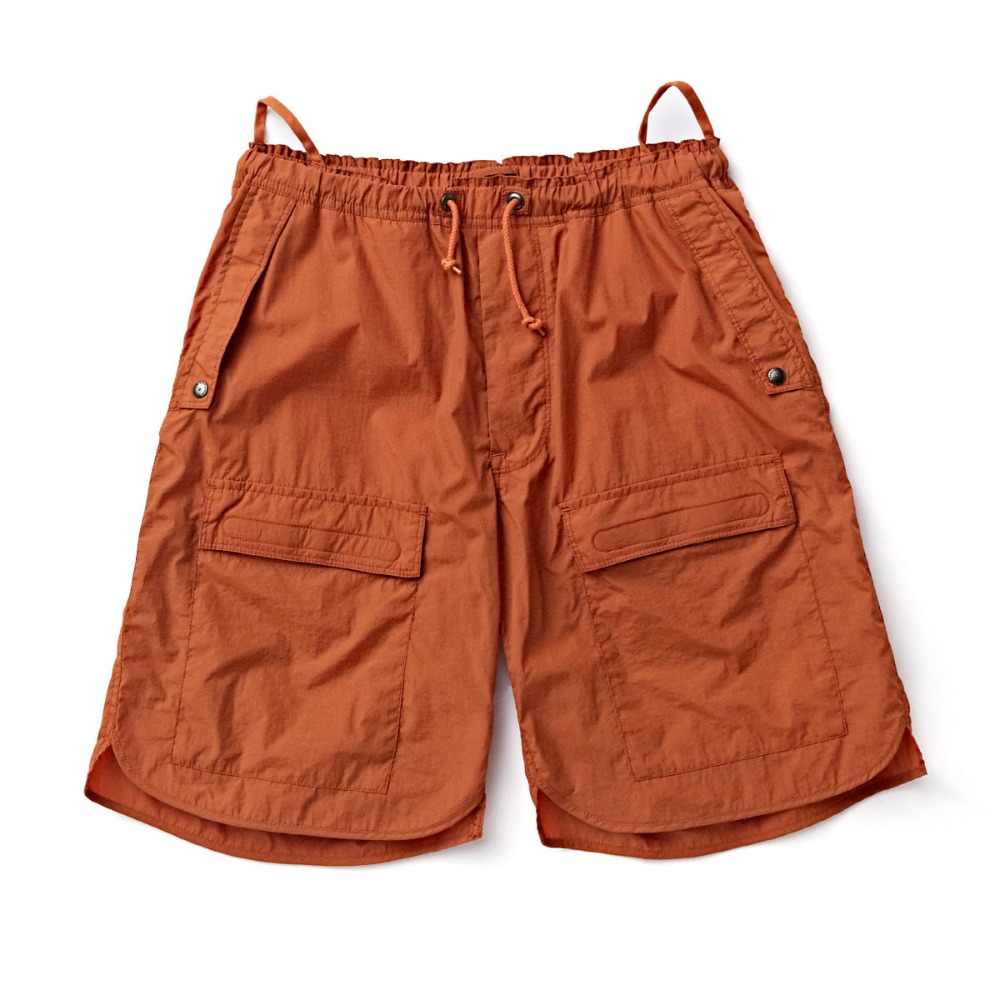 "EASTLOGUE CBR Shorts ""Orange Nylon Washer"""