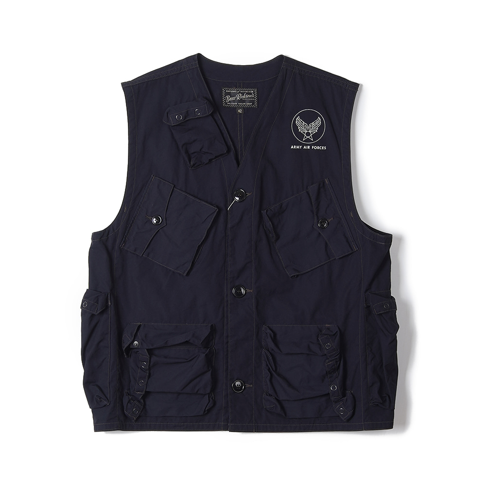 "BUZZ RICKSON'S C-1 Vest Civilan Model ""Navy"""
