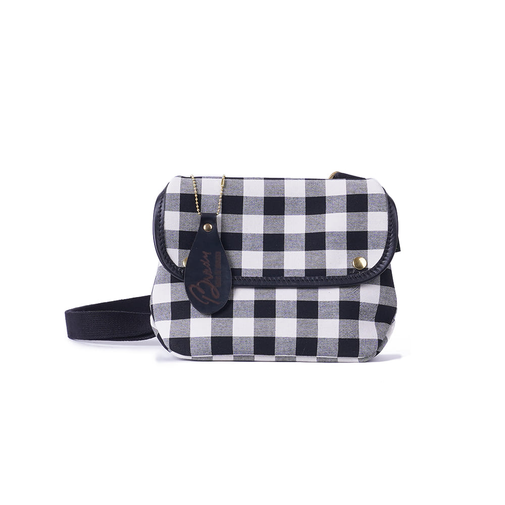 "BRADY BAGS AVON Mini ""Large Gingham"""