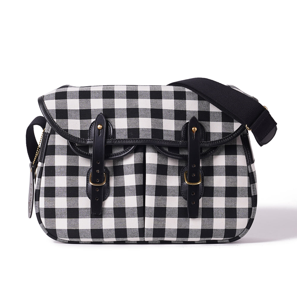 "BRADY BAGS Small ARIEL TROUT Fishing Bag ""Large Gingham"""