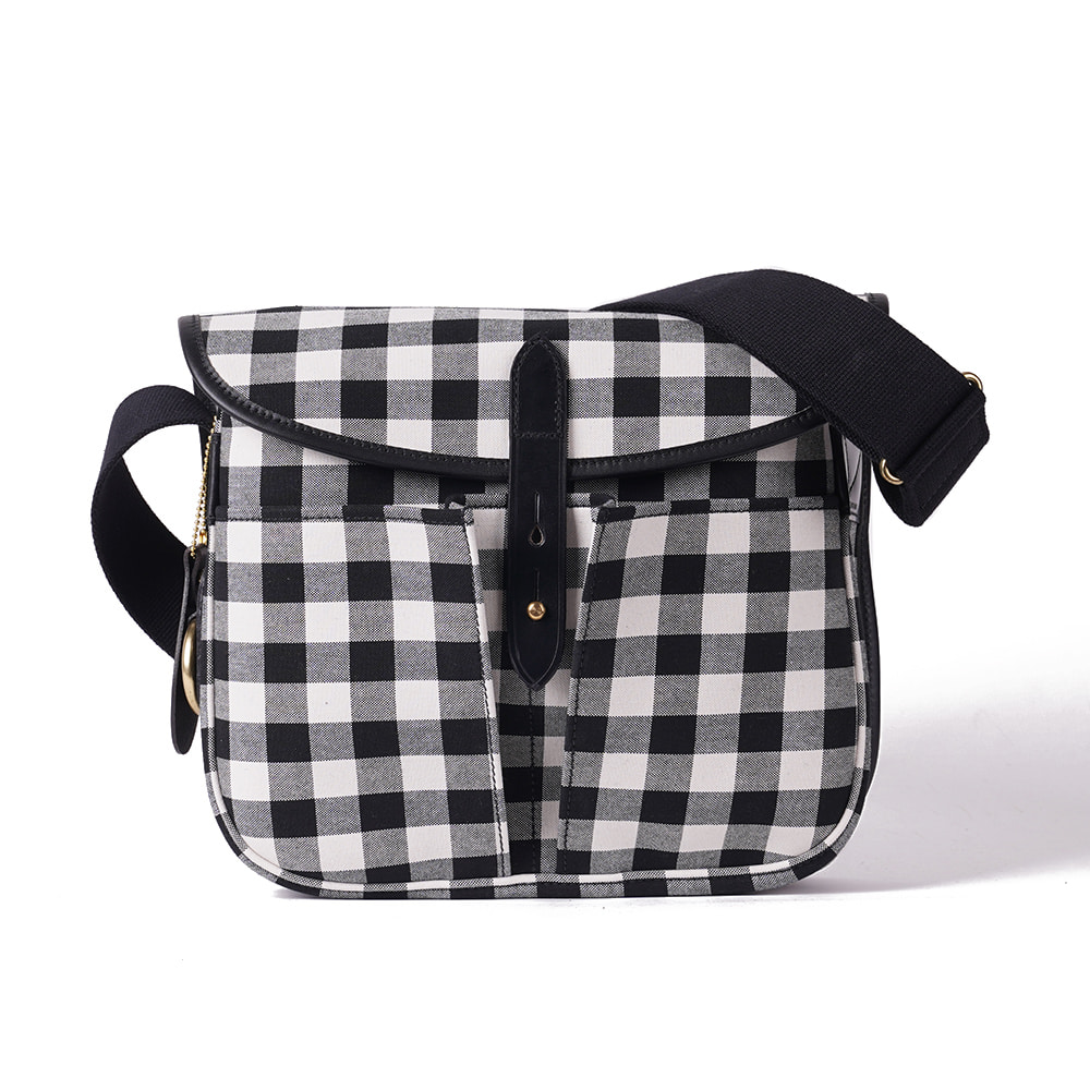 "BRADY BAGS STOUR Fishing Bag ""Large Gingham"""