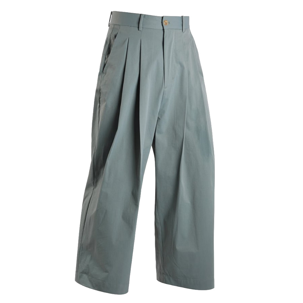 "OOPARTS wide-leg long pants ""Sky Blue"""