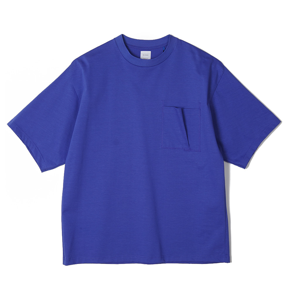 "NAME Half Sleeve Tee ""Blue"""