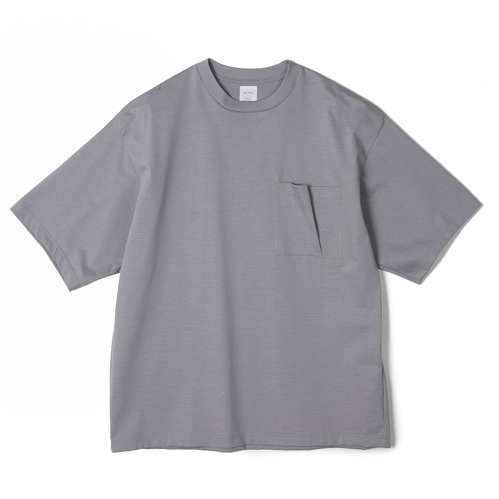 "NAME Half Sleeve Tee ""Grey"""