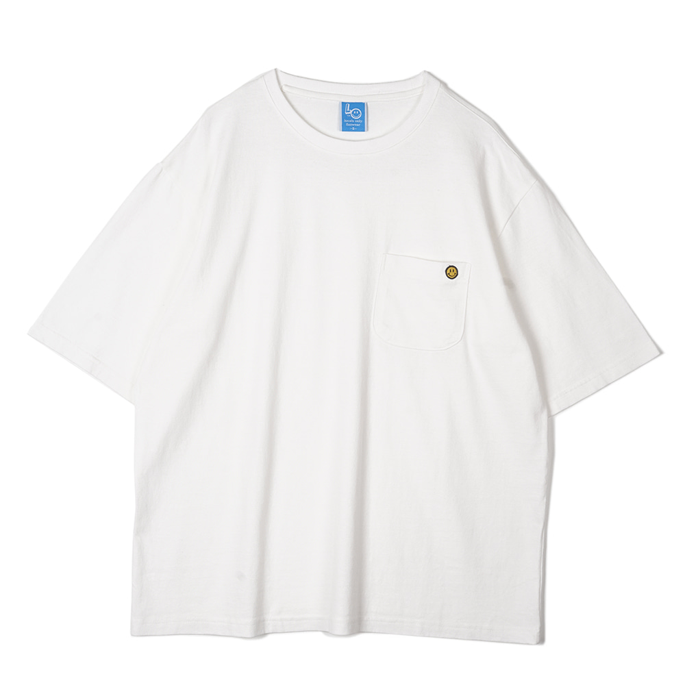 "LOCALS ONLY Standard Pocket T-shirts ""White"""