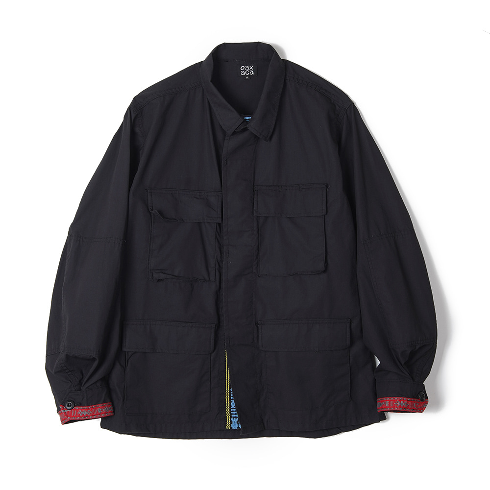 "OAXACA Bdu Tape Jacket ""Black"""