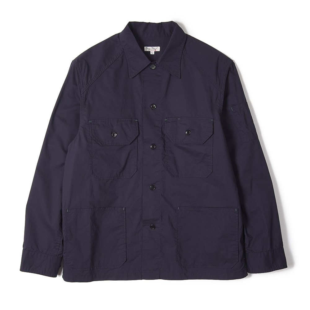 "BURGUS PLUS Millitary Field Shirt Jacket ""Navy"""