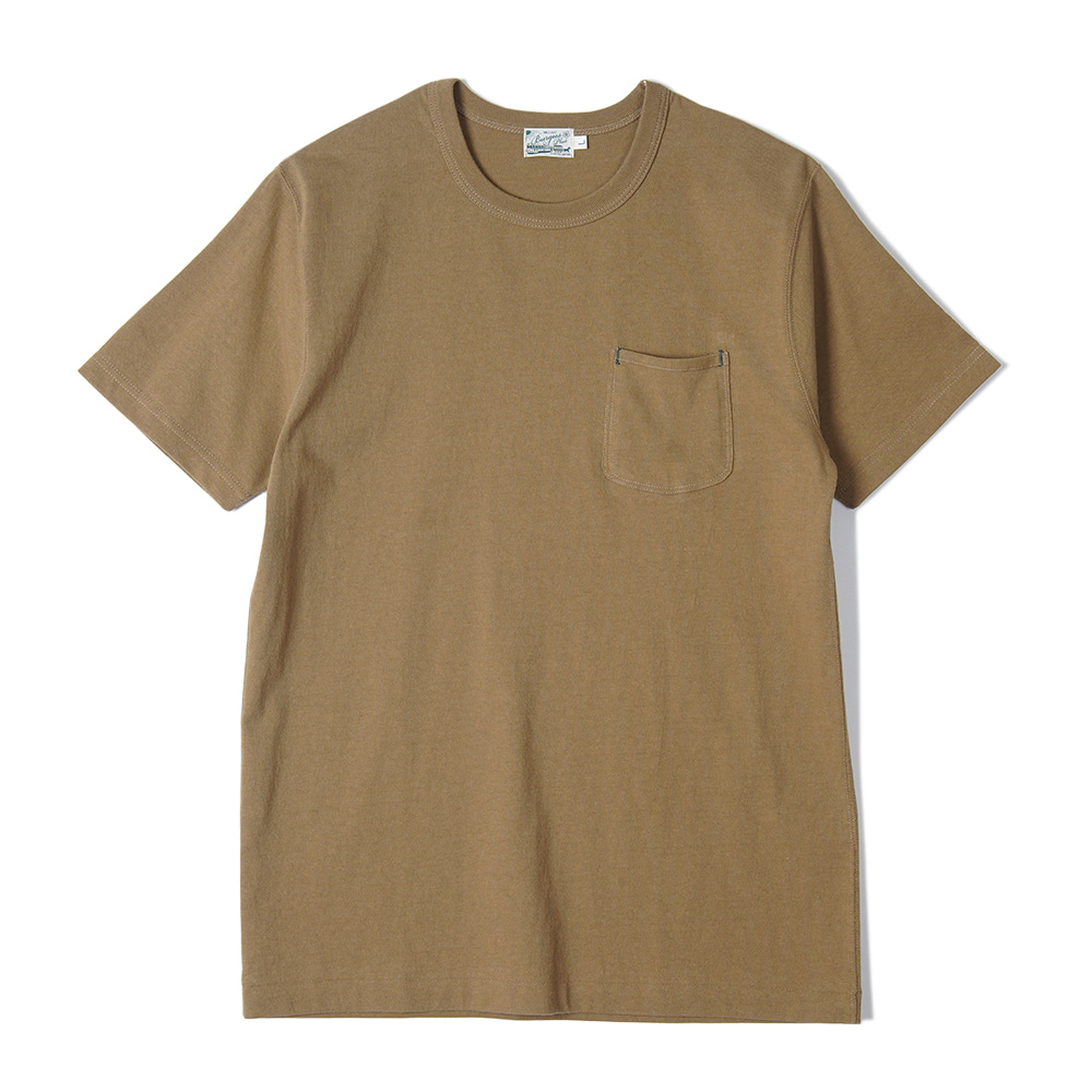 "BURGUS PLUS S/S Pocket Tee ""White"""
