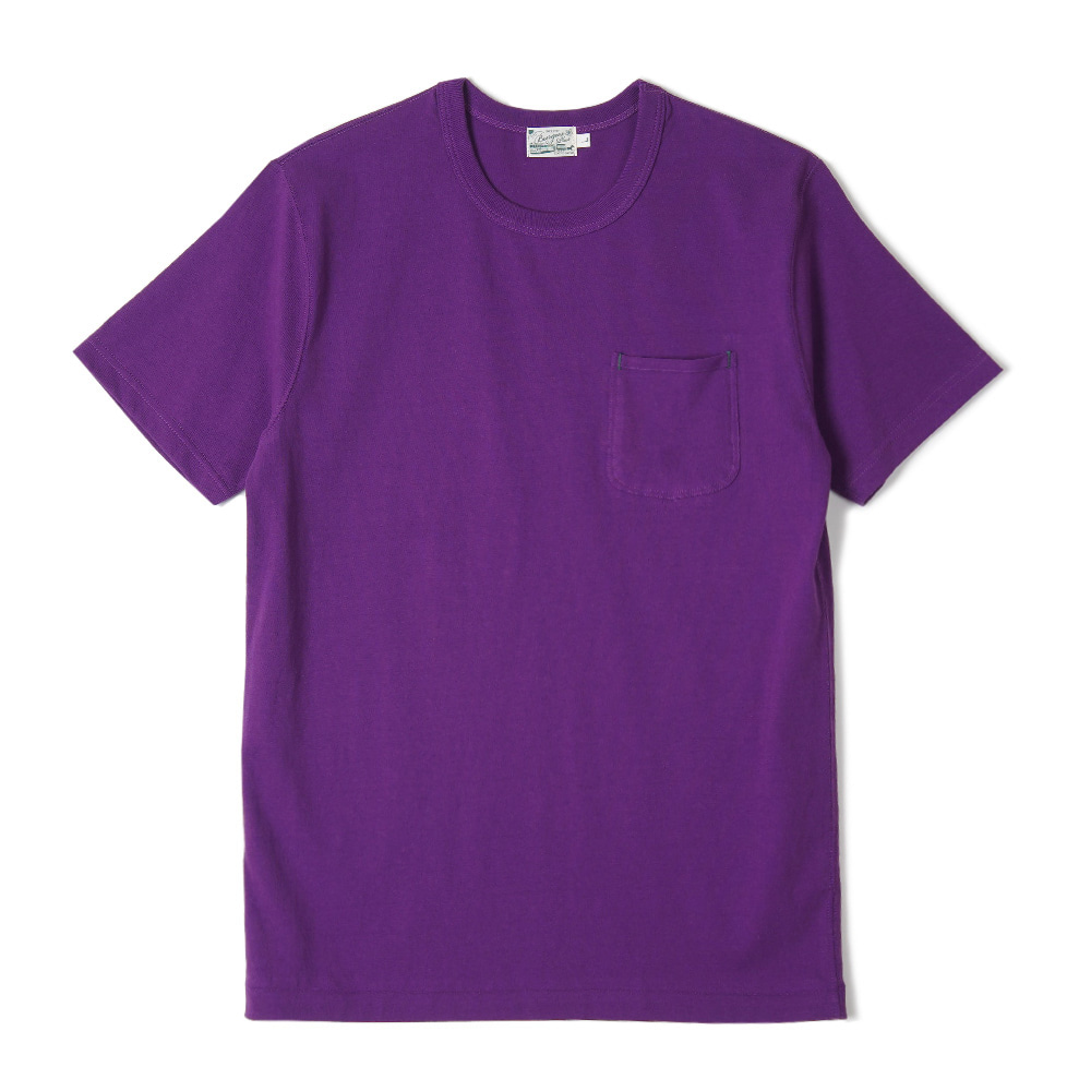 "BURGUS PLUS S/S Pocket Tee ""Purple"""