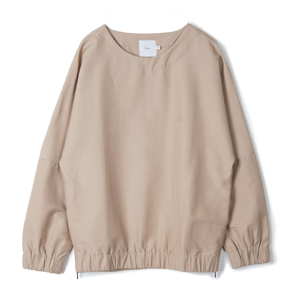"OOPARTS Dropped-Shoulder Pullover ""Beige"""