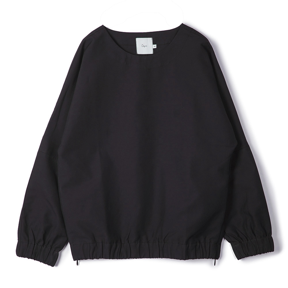 "OOPARTS Dropped-Shoulder Pullover ""Black"""