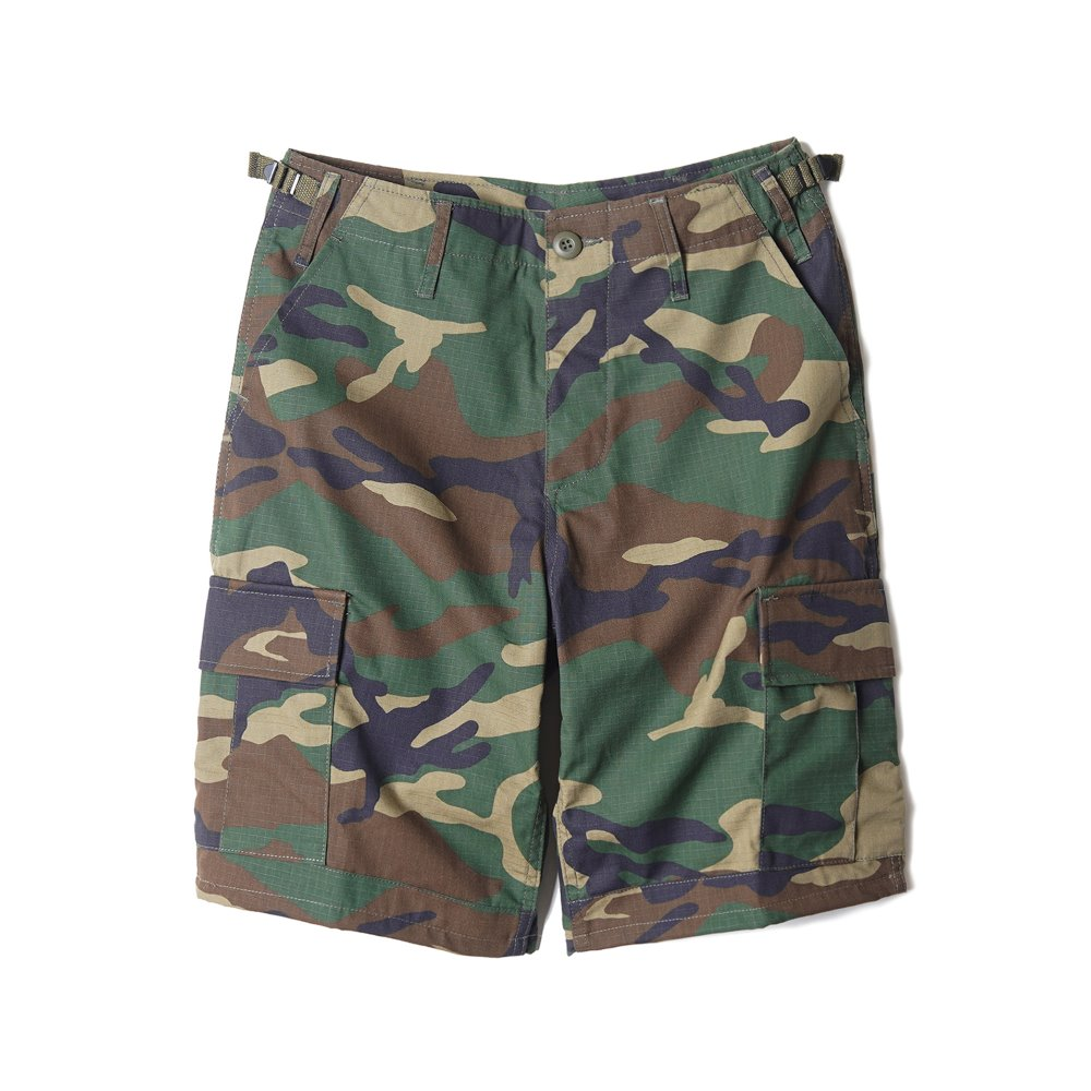 "YMCL KY US BDU Ripstop Short Pants ""Woodland"""