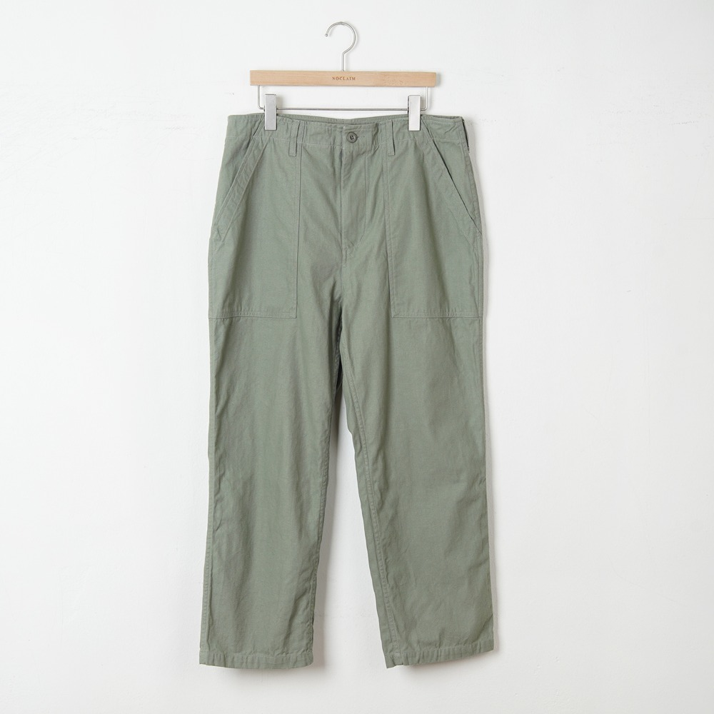 "HONEST CROCKER HC Fatigue slacks ""Olive"""