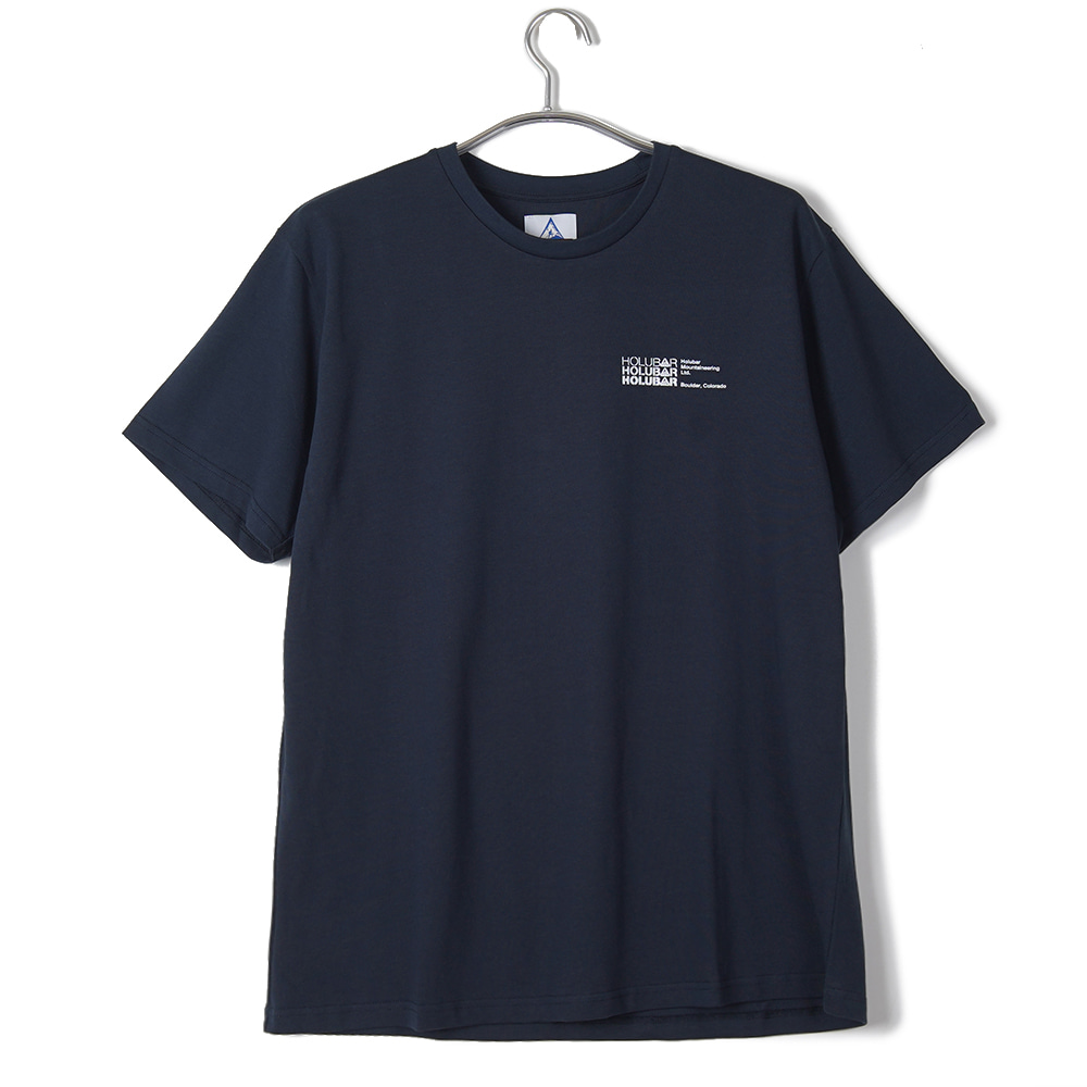 "HOLUBAR M516 Small Logo T-Shirt ""Dark Blue"""