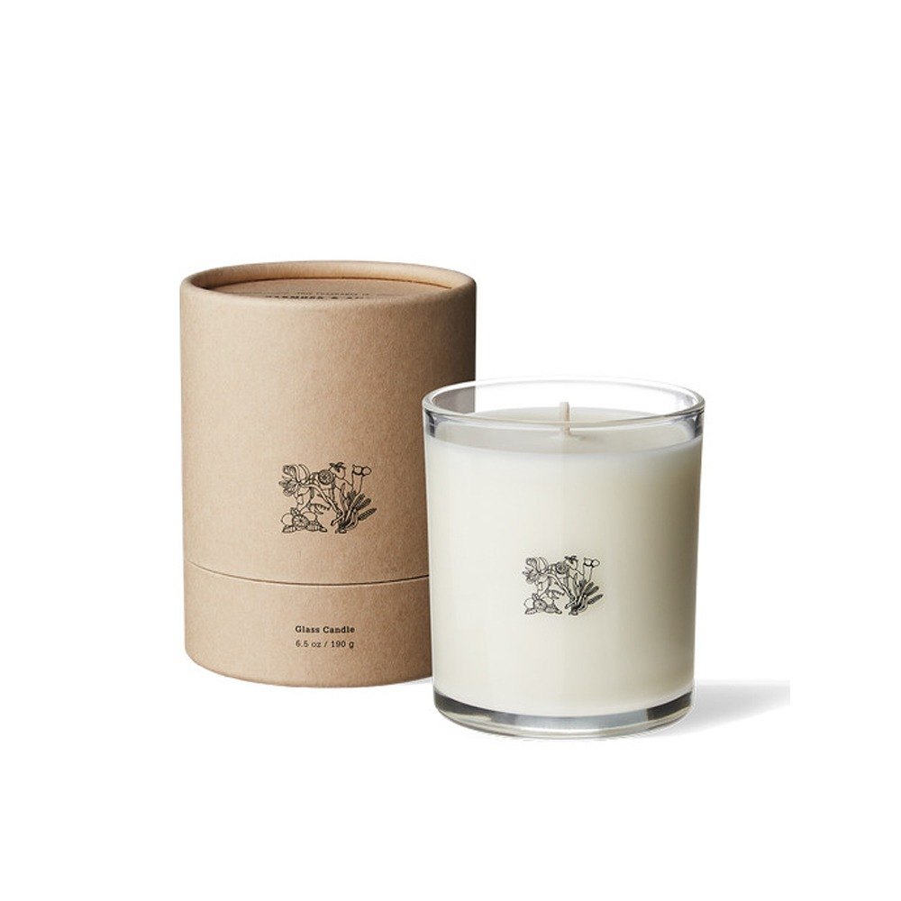 "APOTHEKE FRAGRANCE Glass Candle ""White tea"""