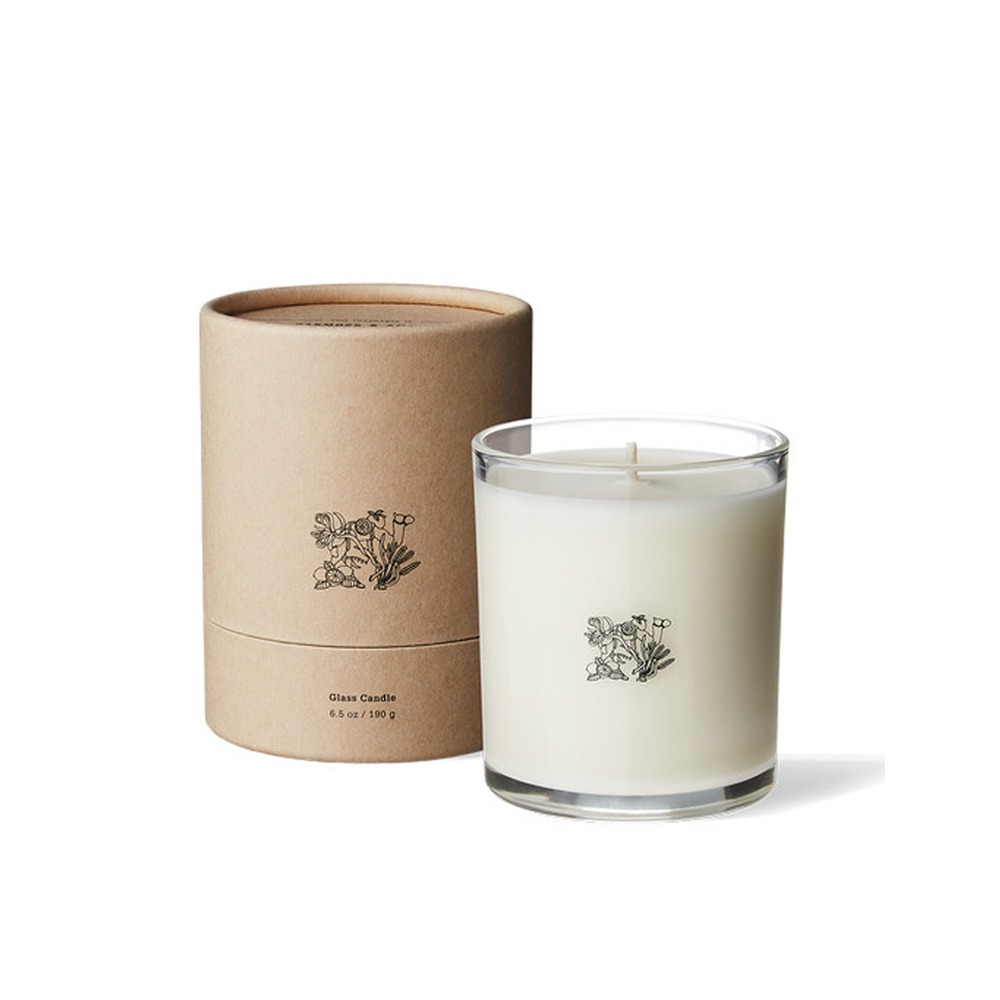 "APOTHEKE FRAGRANCE Glass Candle ""Fig"""