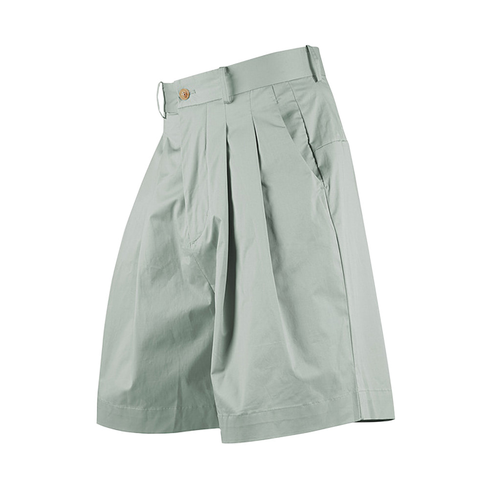 "OOPARTS wide-leg short pants ""Mint"""
