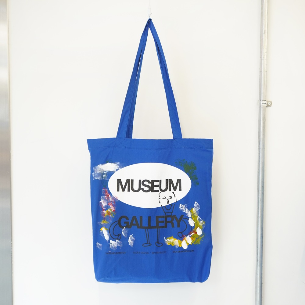 "THE MUSEUM VISITOR Museum Gallery Ecobag ""Blue"""