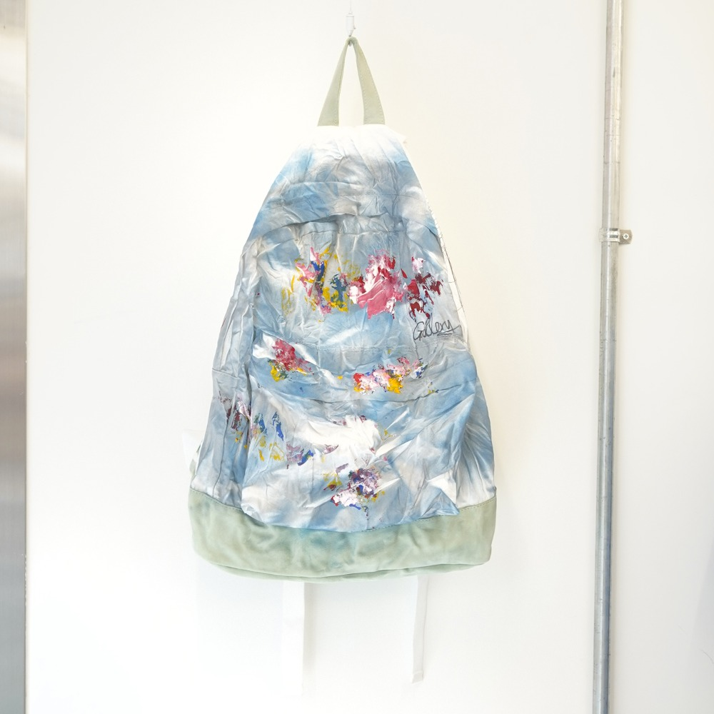 "THE MUSEUM VISITOR Artist BackPack ""Blue"""