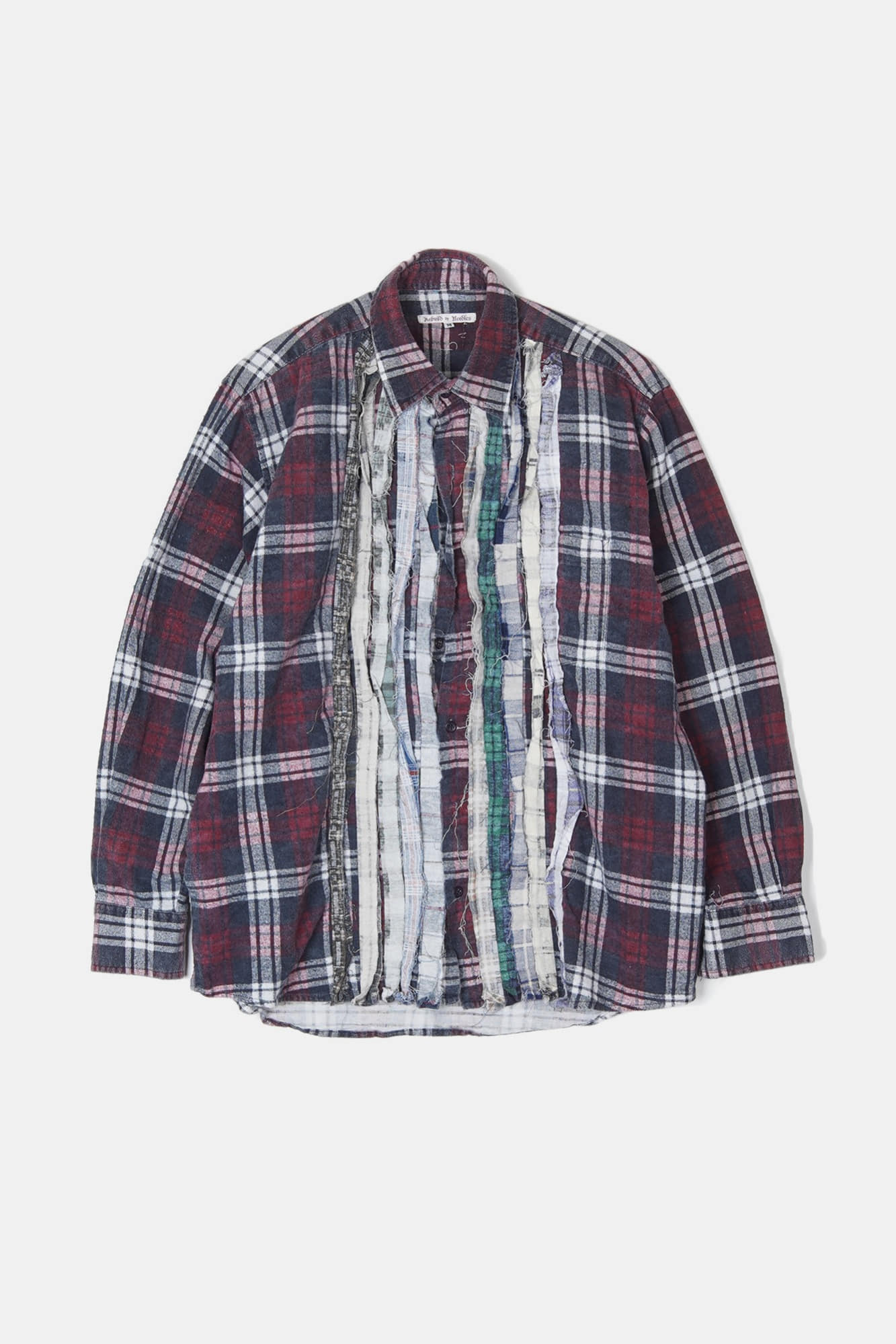 REBUILD BY NEEDLES Flannel Ribbon Shirt 2
