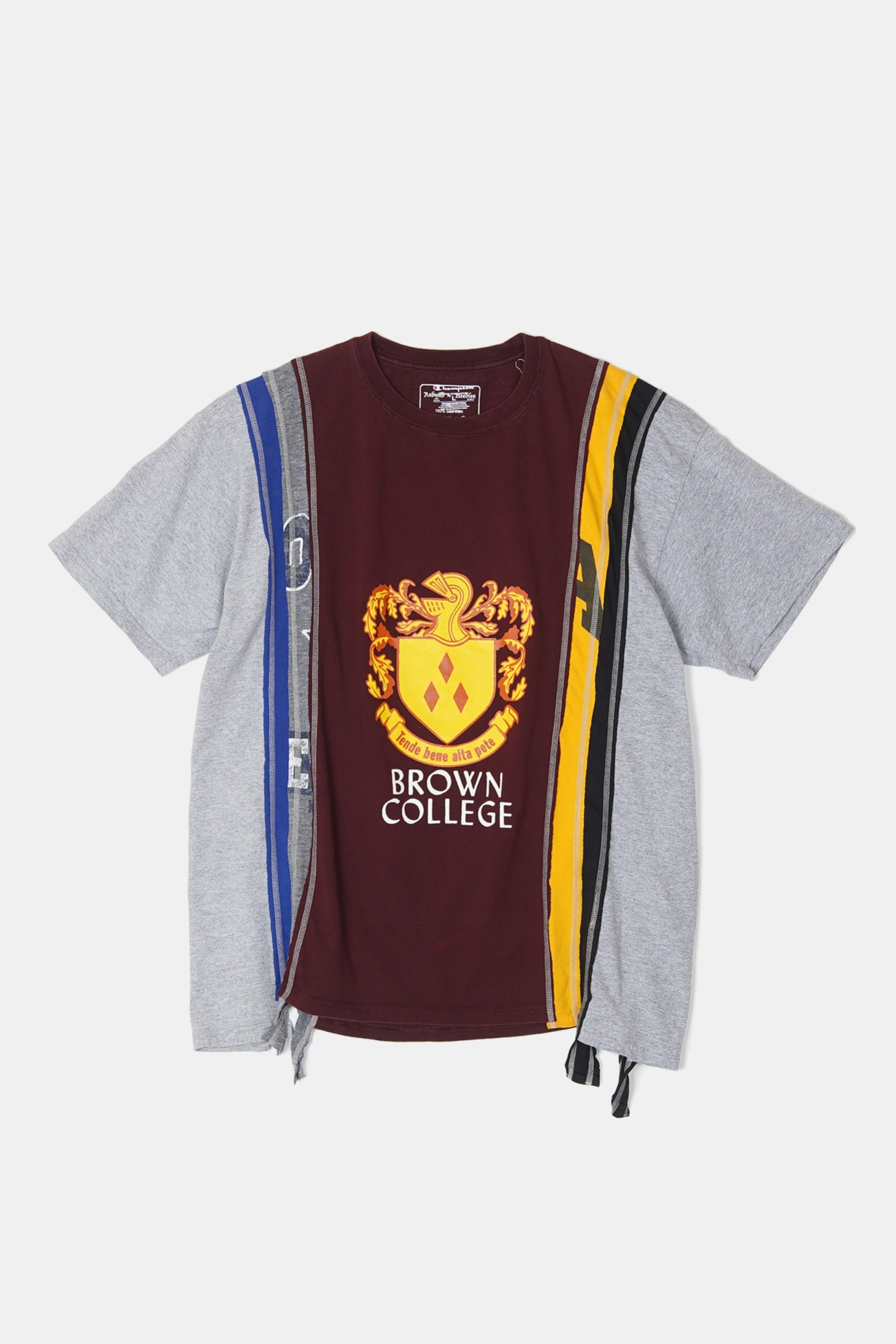 REBUILD BY NEEDLES 7 Cuts S/S College Tee 2