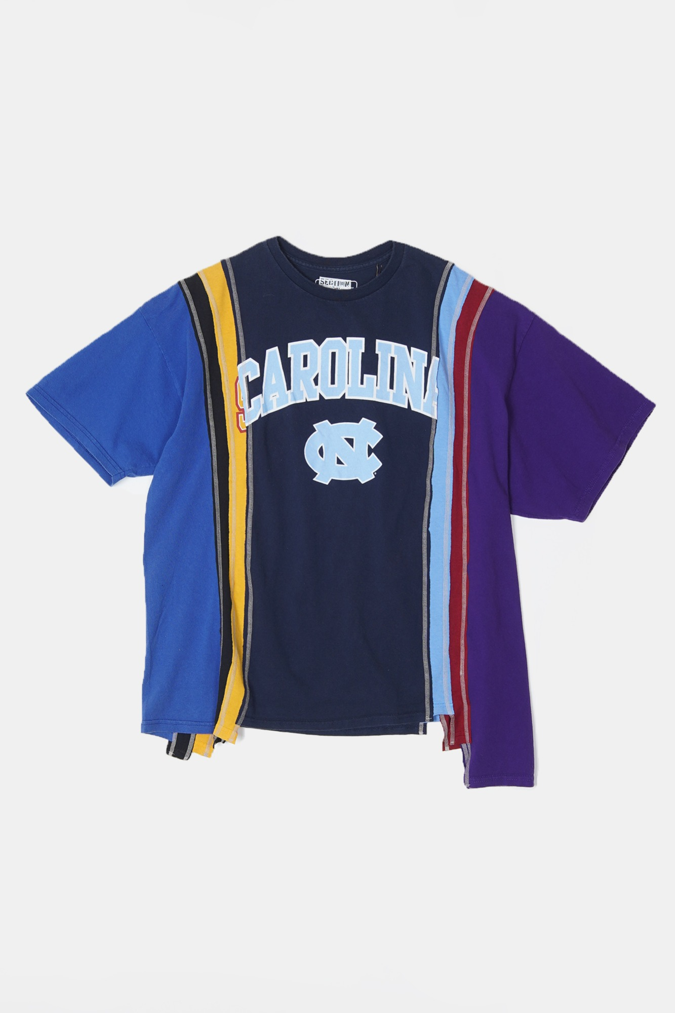 REBUILD BY NEEDLES 7 Cuts S/S College Wide Tee 1
