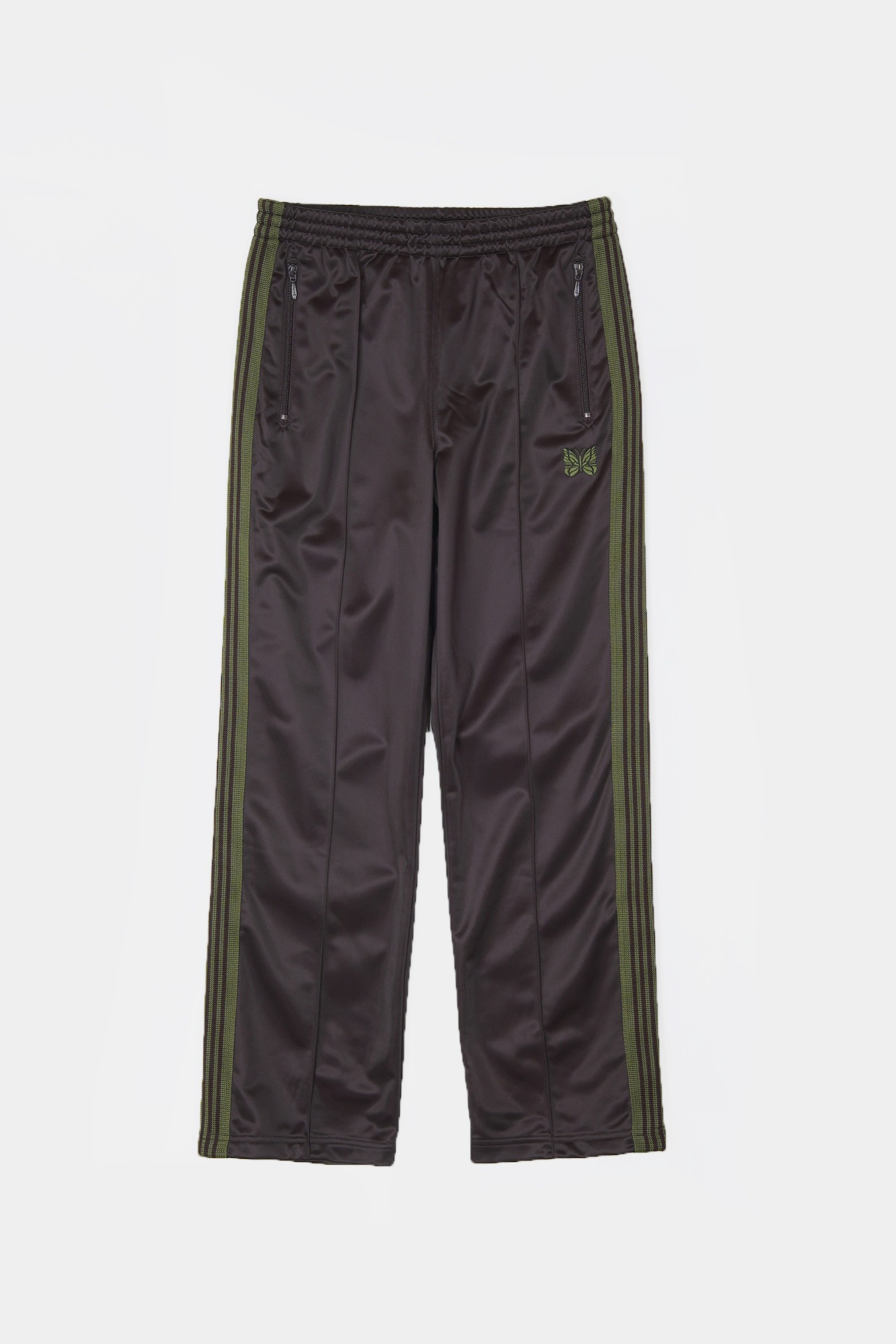 "NEEDLES Track Pe/Ta Tricot Pant  ""Brown"""