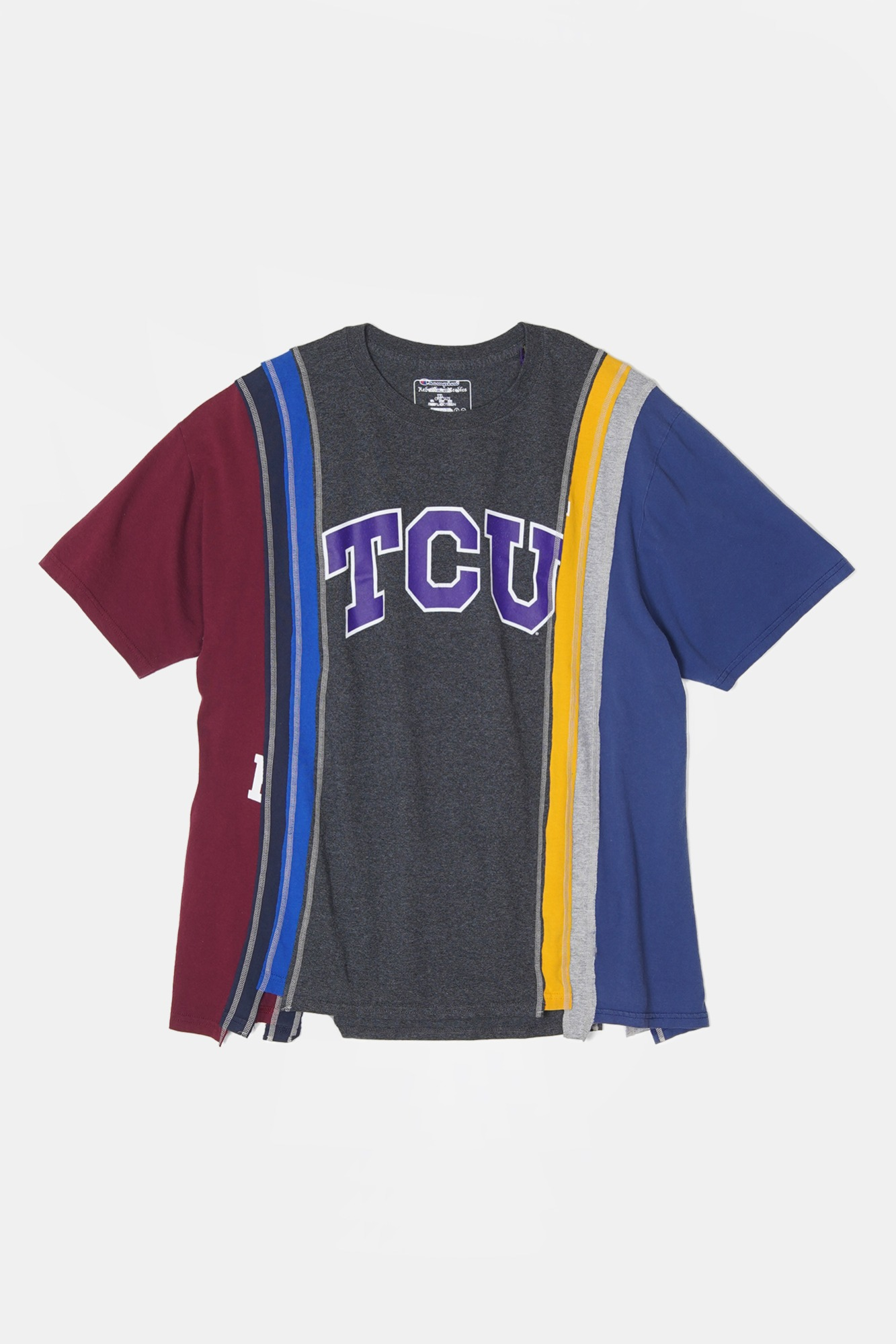 REBUILD BY NEEDLES 7 Cuts S/S College Wide Tee 4