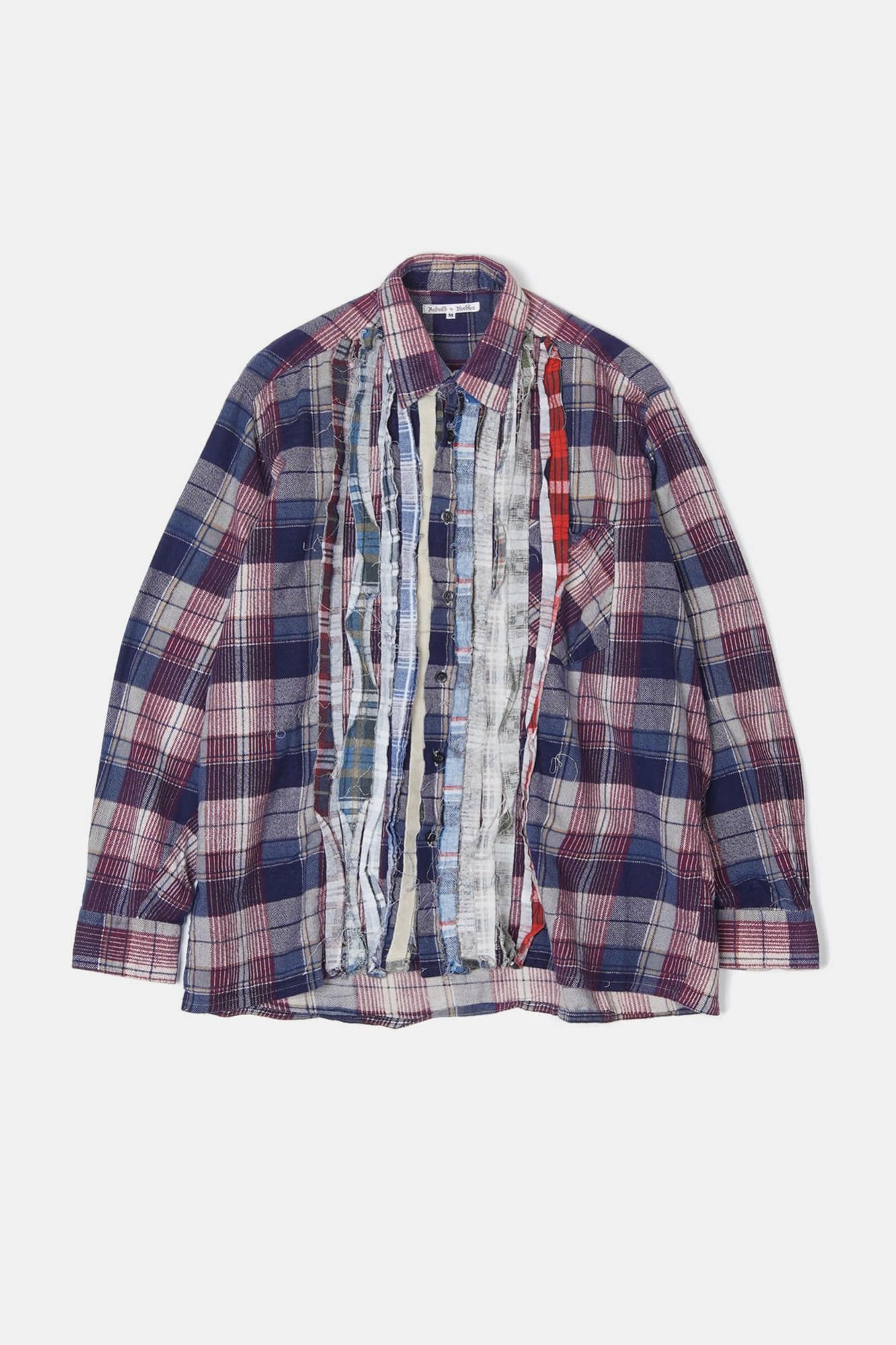 REBUILD BY NEEDLES Flannel Ribbon Shirt 1