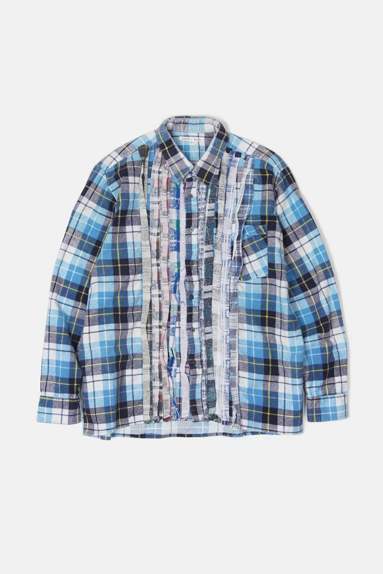 REBUILD BY NEEDLES Flannel Ribbon Shirt 5