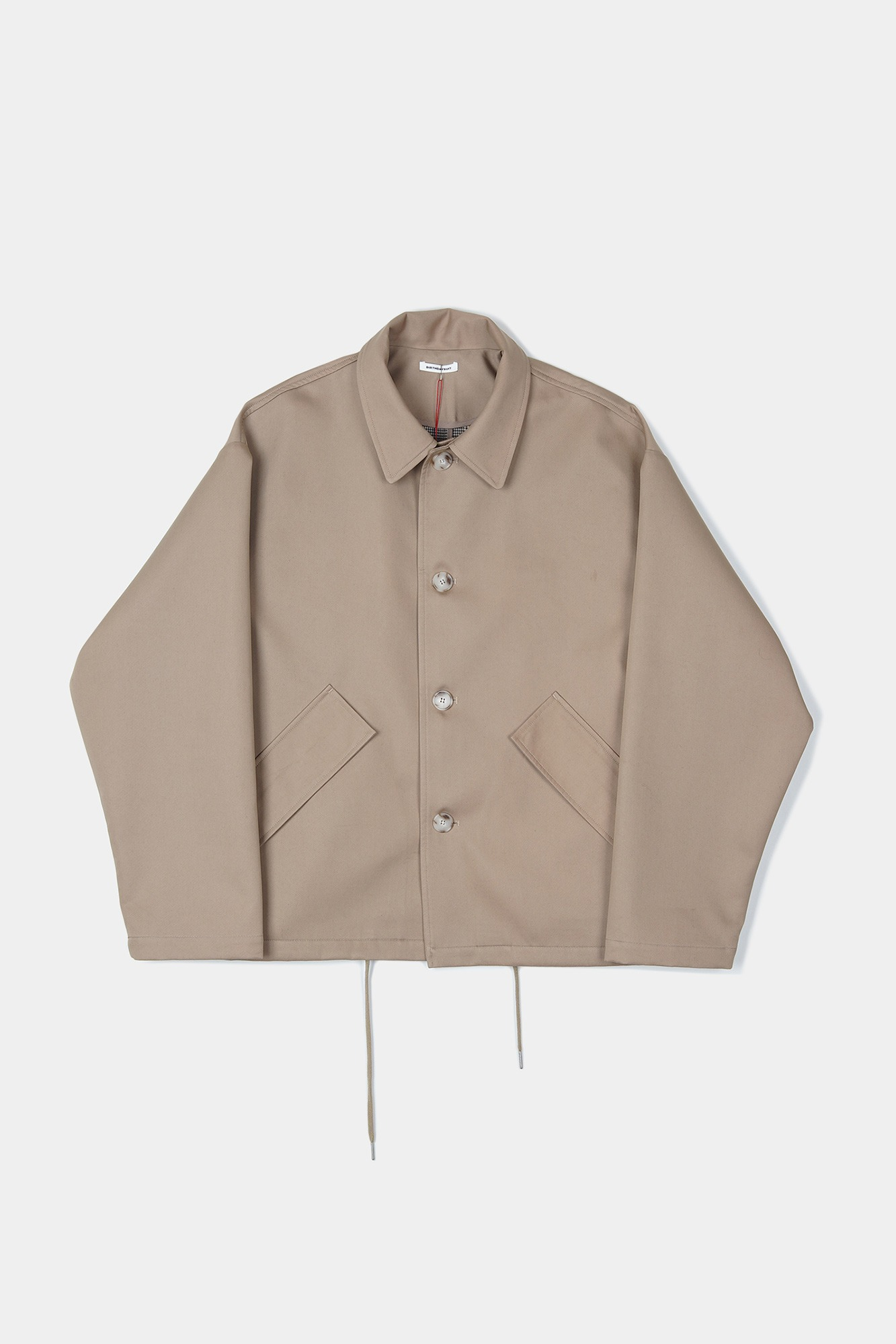 "BIRTHDAYSUIT Coach Coat ""Beige"""
