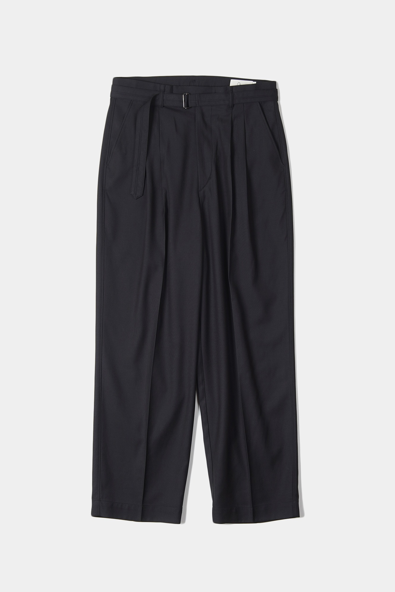 "OOPARTS Loose-fit belted pants ""Cola"""