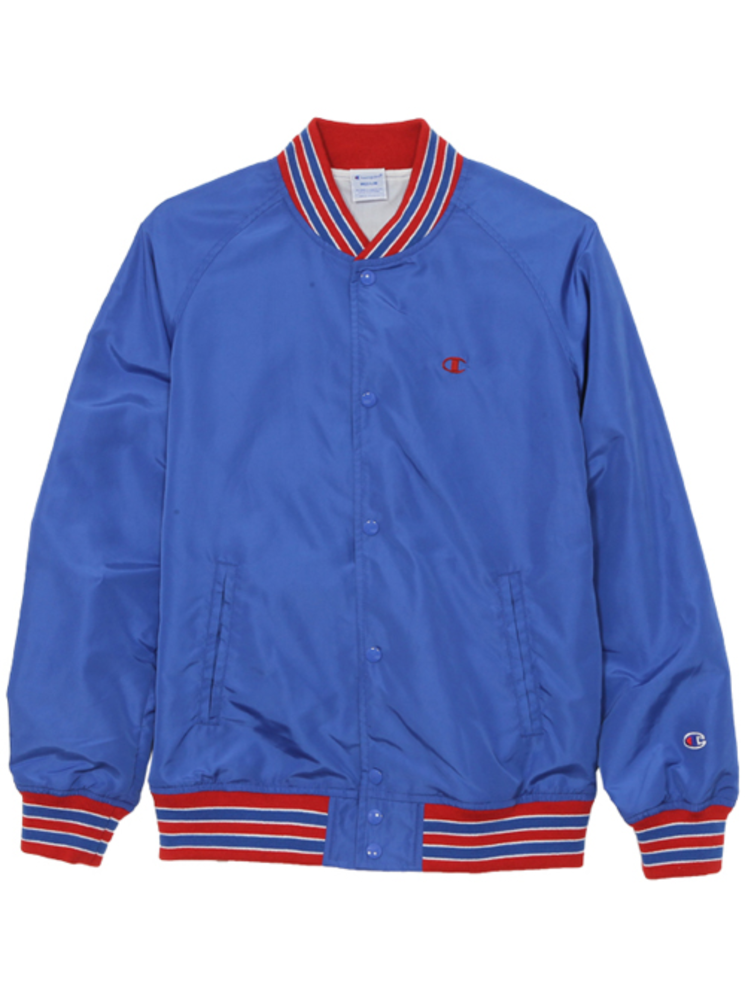 "CHAMPION Action Style Snap Jacket C3-H604 ""Blue(327)"""