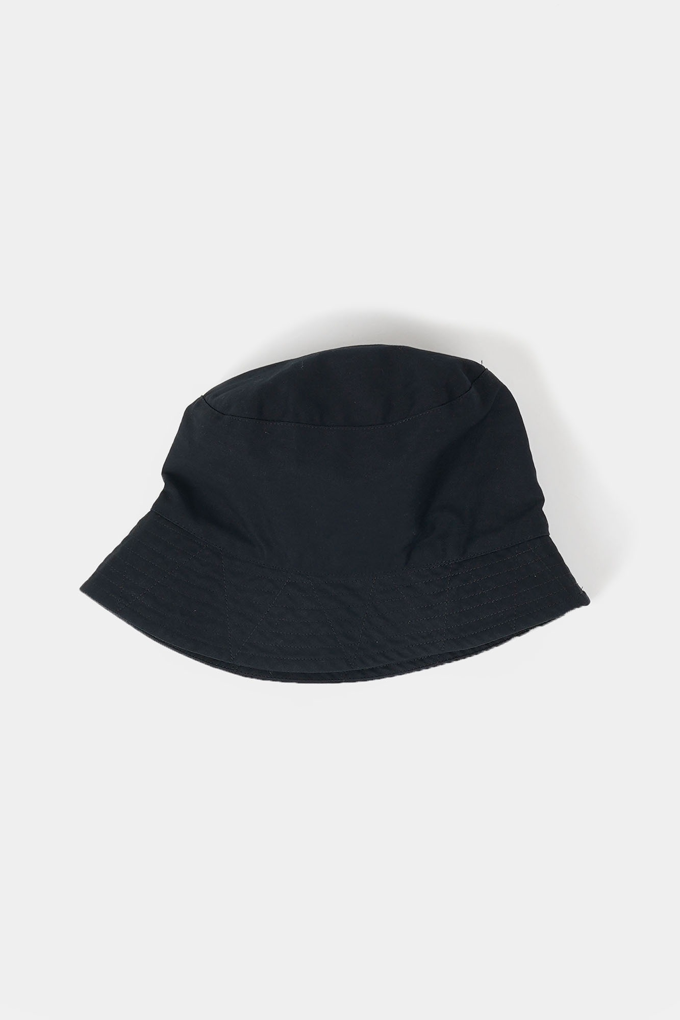 "ENGINEERED GARMENTS Bucket Hat ""Black Cotton Herringbone Twill"""