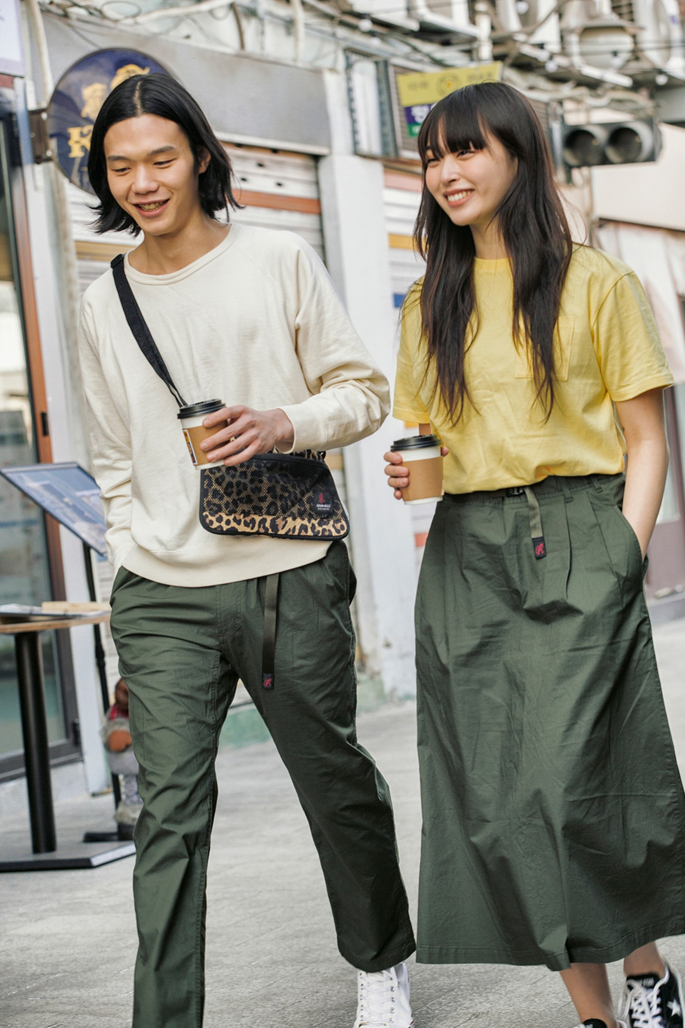 "★GRAMICCI Loose Tapered Pants ""Olive"""