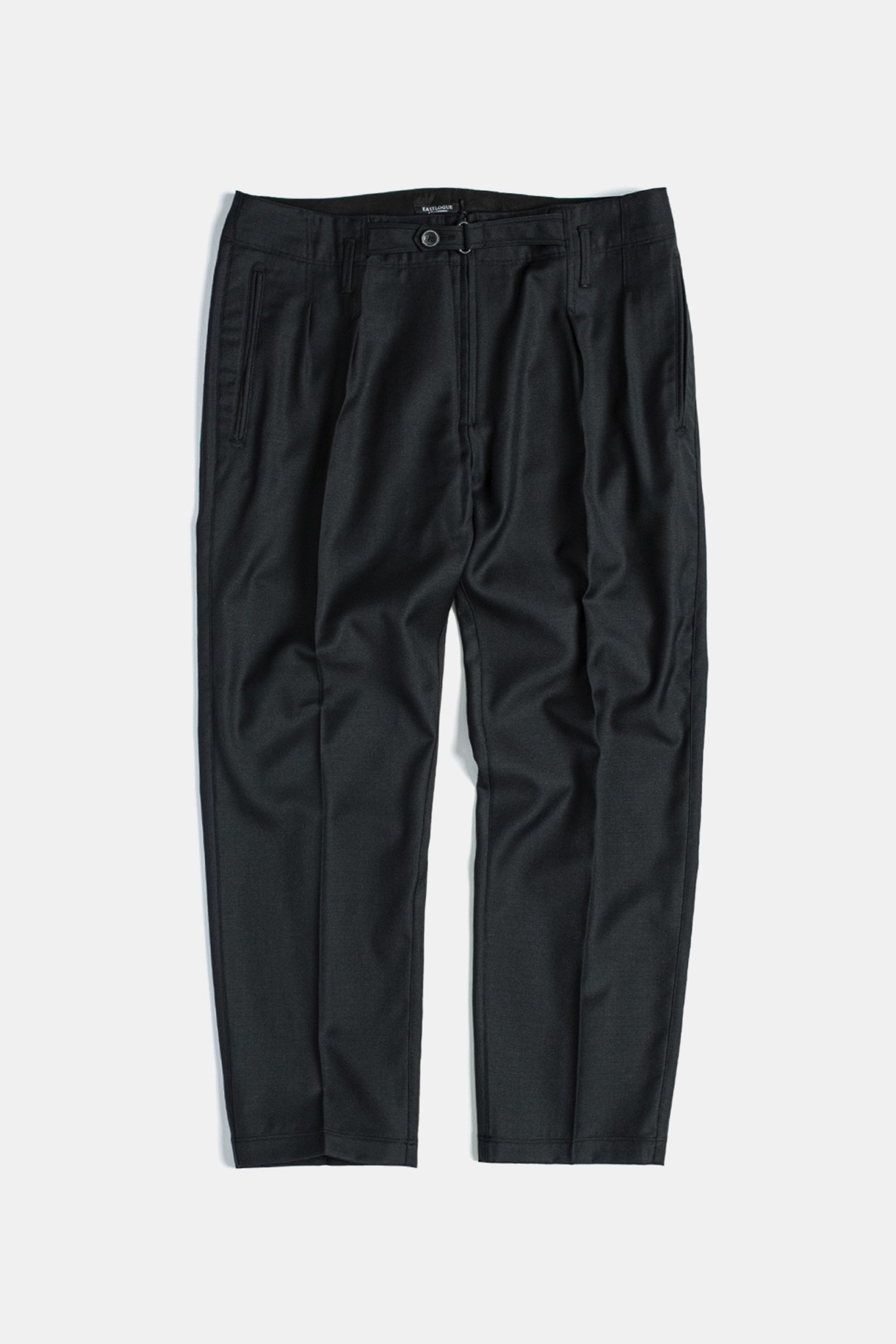 "EASTLOGUE Explorer Pants ""Black Wool"""