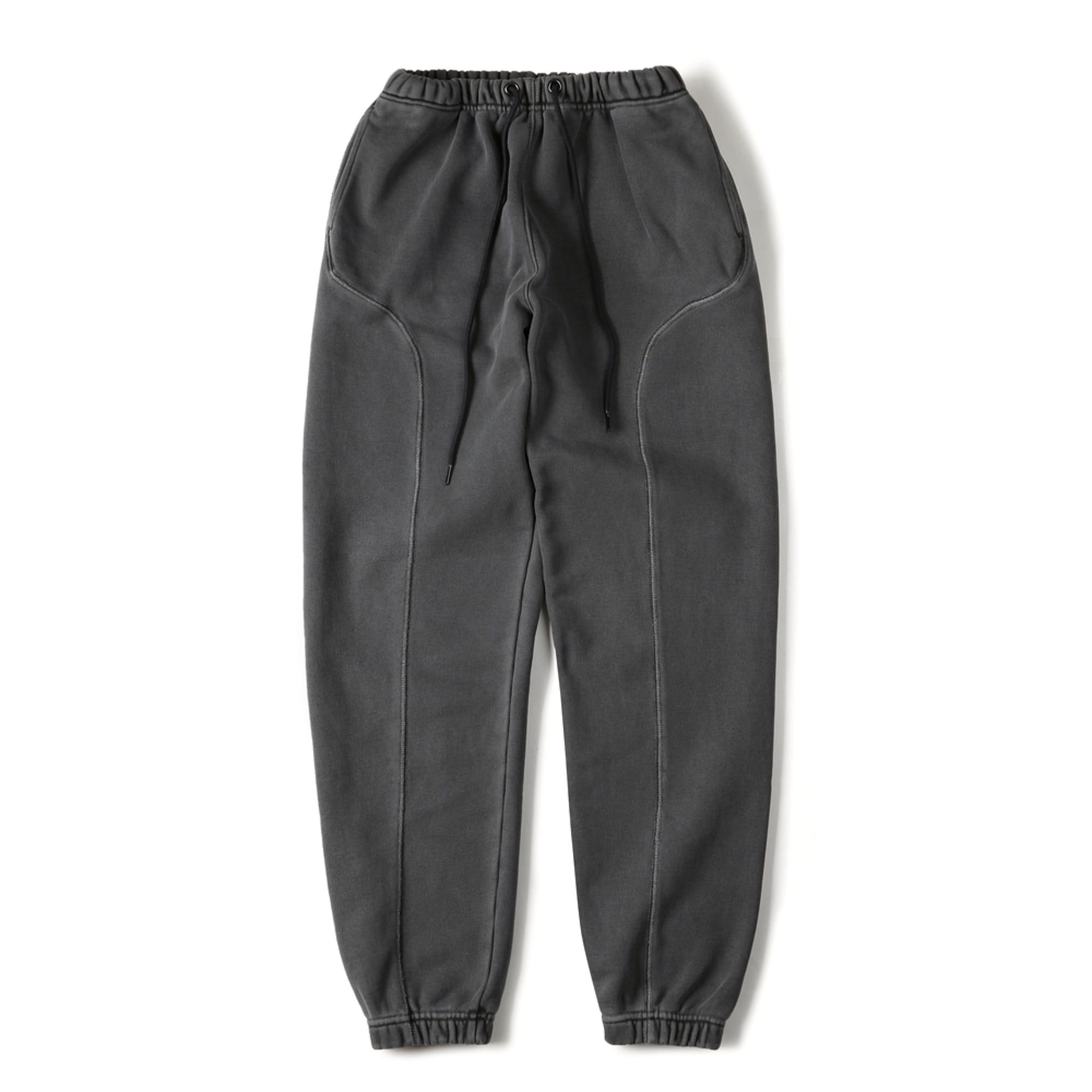 "SHIRTER Garment Dyed Sweatpants ""Dark Grey"""