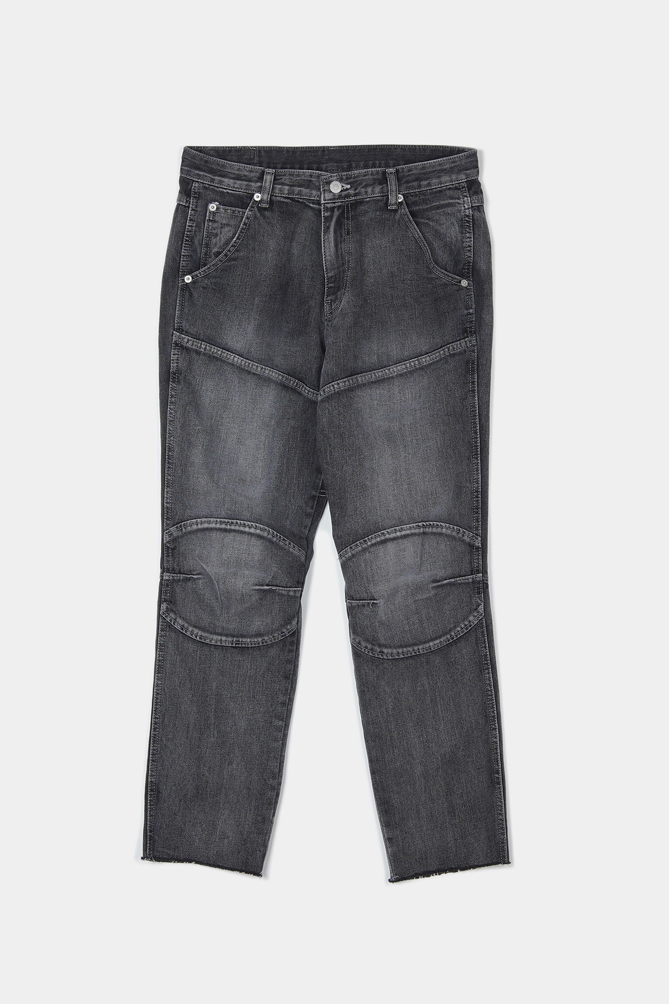 "BIRTHDAYSUIT Biker Denim ""Black"""