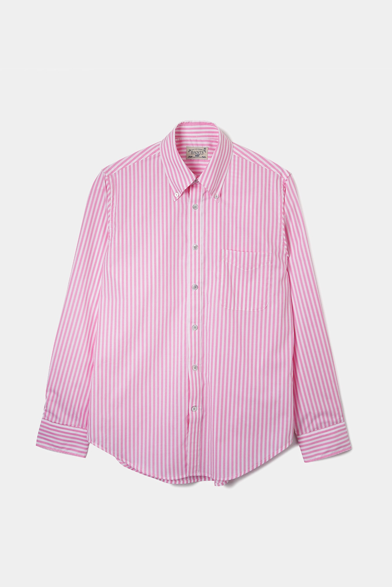 "BANTS OPD Stripe Broadcloth B.D Shirt ""Pink"""