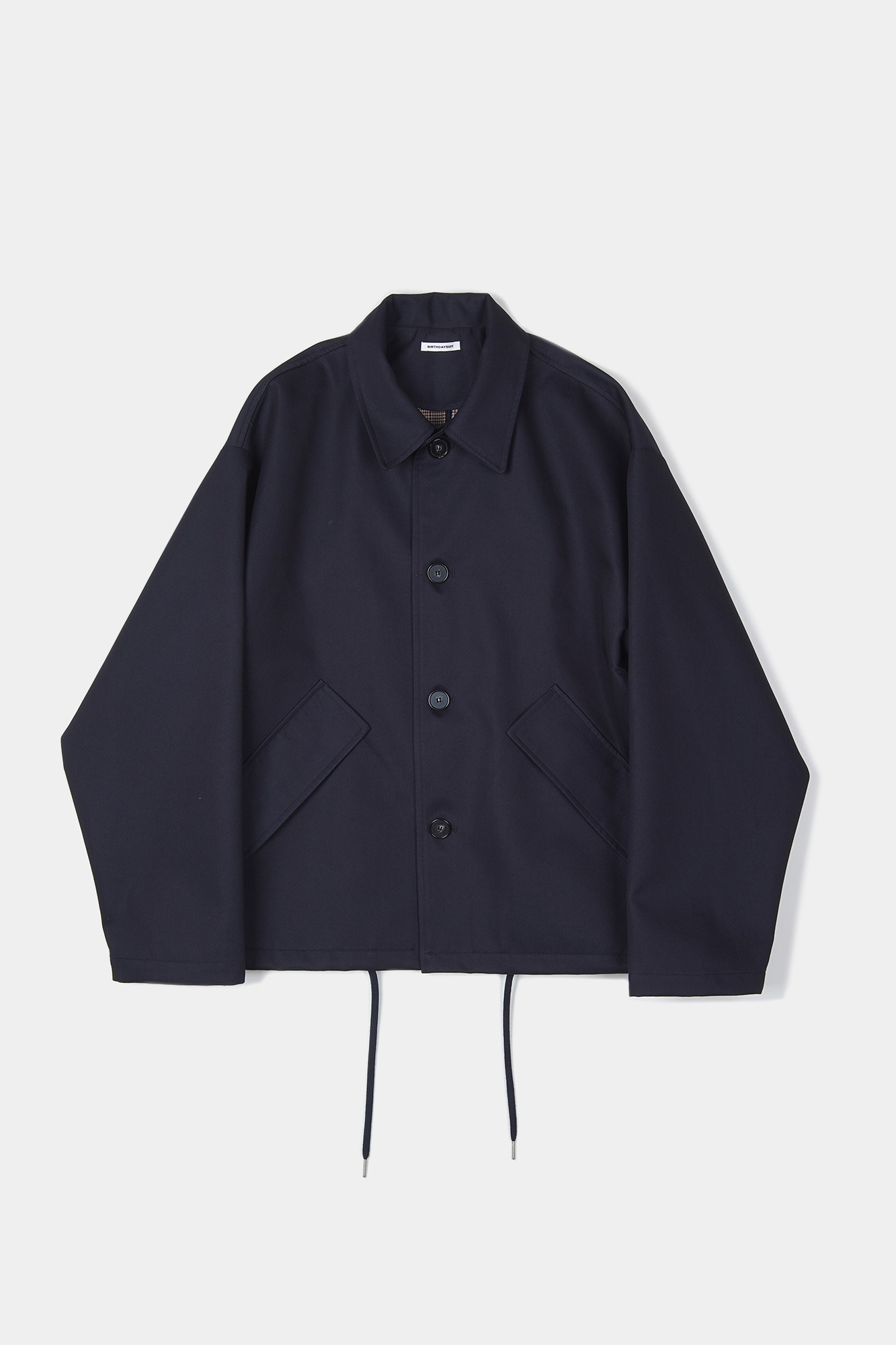"BIRTHDAYSUIT Coach Coat ""Navy"""