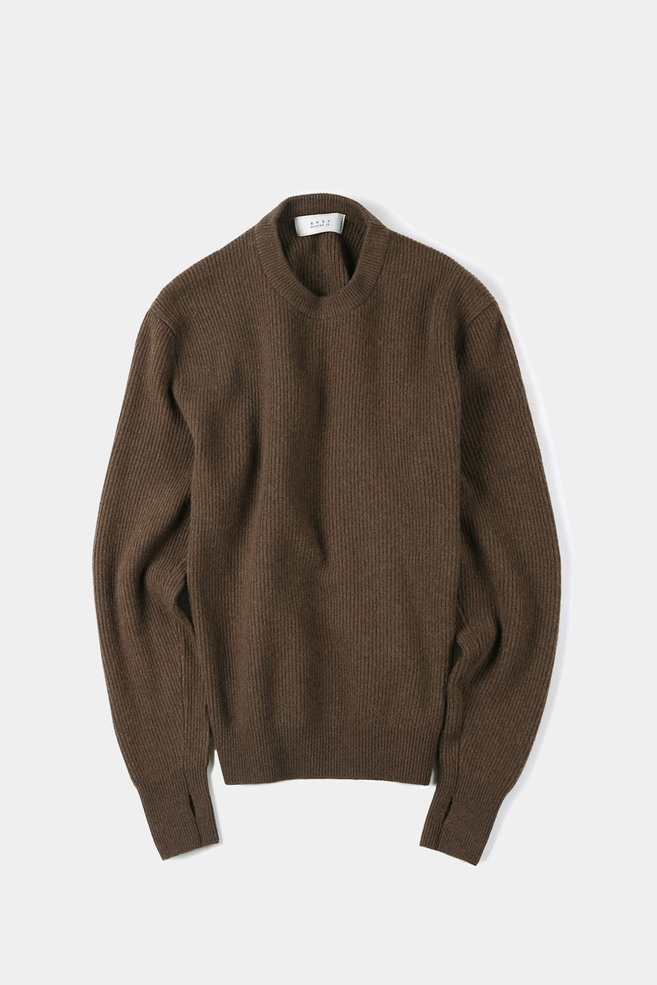 "SHIRTER Wanderer Crew Neck Knit ""Brown"""