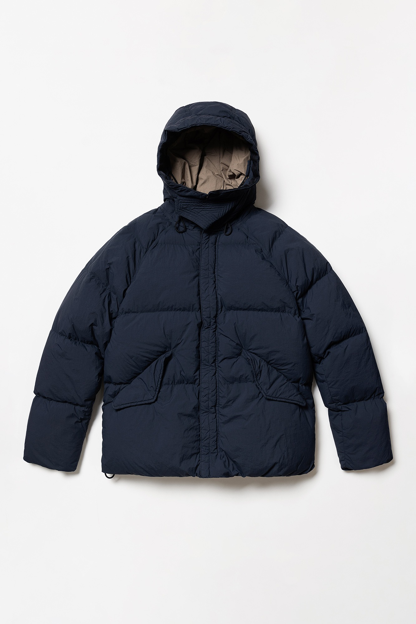 "TEN-C Artic Down Parka ""Navy"""